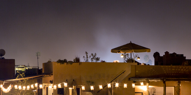 nomad marrakech night